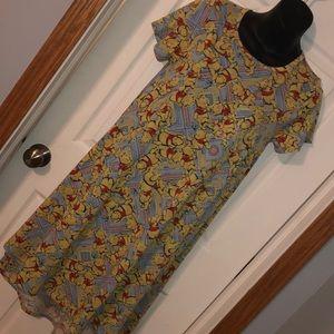 Winnie the Pooh Disney LulaRoe Carly Dress